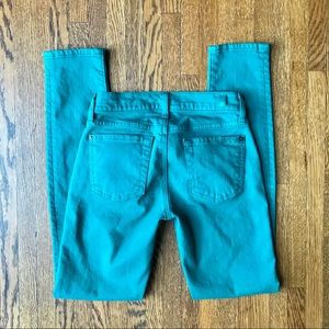 7 for all mankind Dark Teal The Skinny Jeans